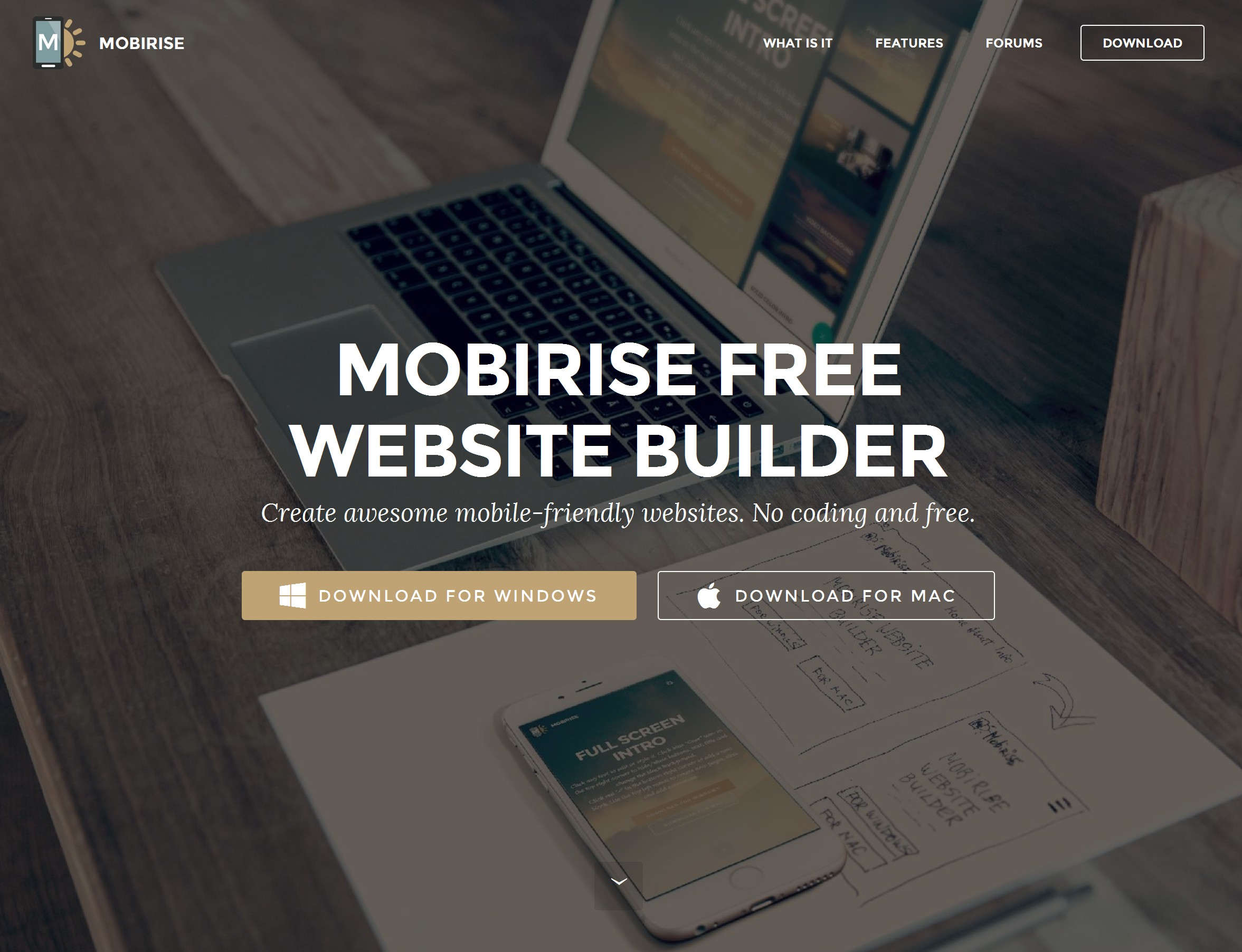 Drag and Drop Responsive Web Site Maker