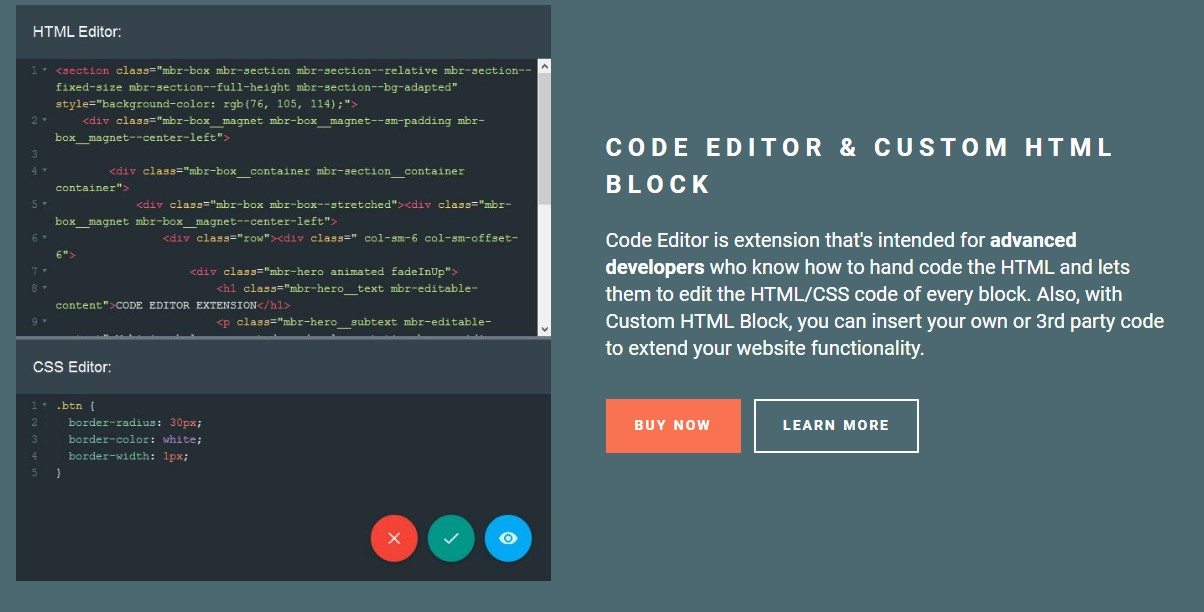 Bootstrap Mobile Template
